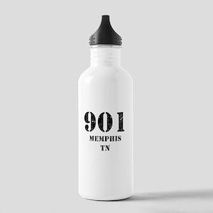 901 Memphis TN Water Bottle