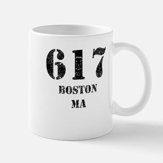617 Boston MA Mugs