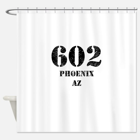 602 Phoenix AZ Shower Curtain