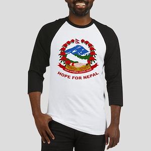 Nepal Relief Effort Baseball Jersey
