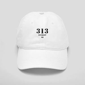 313 Detroit MI Baseball Cap
