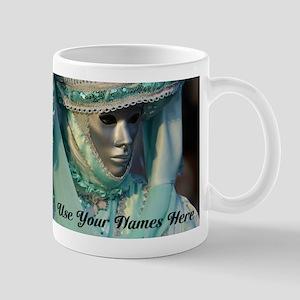 Fancy Dress Couple Mugs