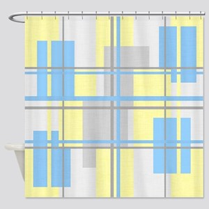 Retro Style Shower Curtain