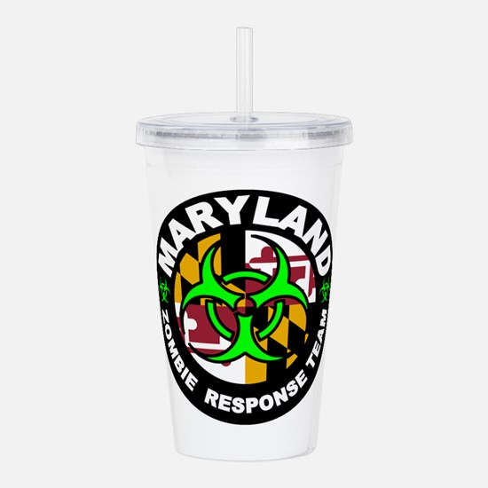 Maryland Zombie Respon Acrylic Double-wall Tumbler
