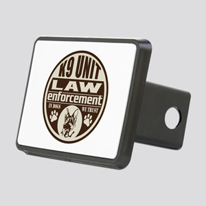 K9 In Dogs We Trust Dark B Rectangular Hitch Cover
