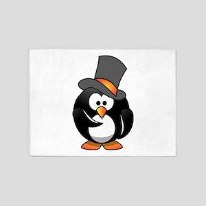 Penguin Wants You 5'x7'Area Rug