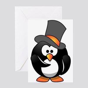 Penguin Wants You Greeting Cards