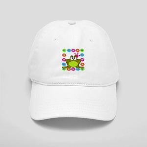 Frog Princess Flowers Baseball Cap