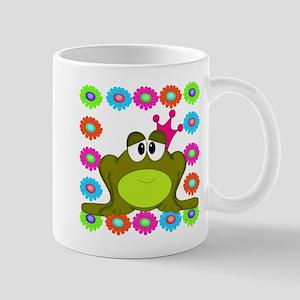 Frog Princess Flowers Mugs