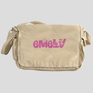 Emely Flower Design Messenger Bag
