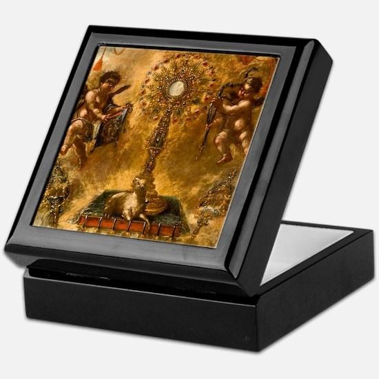 Allegory of the Eucharist Keepsake Box
