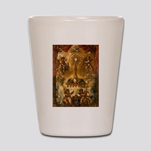 Allegory of the Eucharist Shot Glass