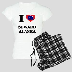 I love Seward Alaska Women's Light Pajamas