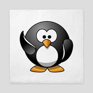 Penguin Wave Queen Duvet