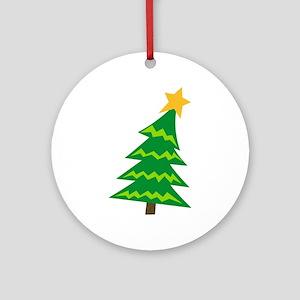 CHRISTMAS TREE MINI Ornament (Round)