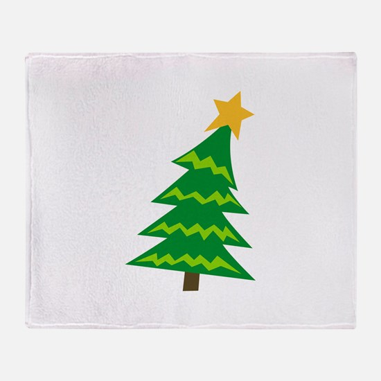 CHRISTMAS TREE MINI Throw Blanket