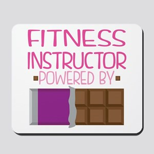 Fitness Instructor Mousepad