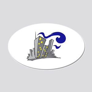CITY BUILDINGS Wall Decal