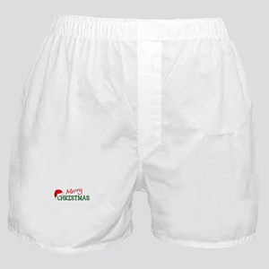 MERRY CHRISTMAS Boxer Shorts