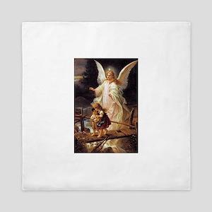 Guardian Angel Queen Duvet