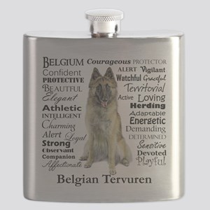 Belgian Tervuren Traits Flask