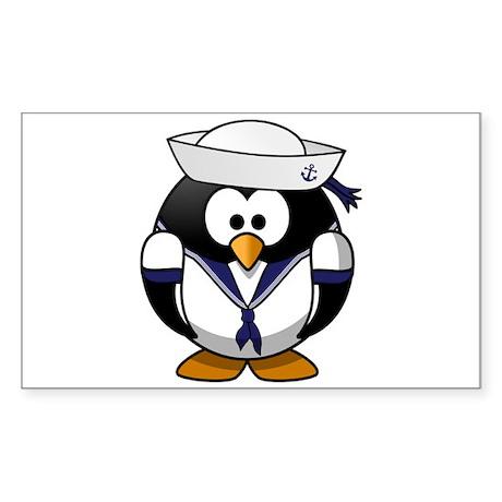Sailor Penguin Sticker