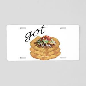 got frybread? Aluminum License Plate