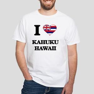 I love Kahuku Hawaii T-Shirt