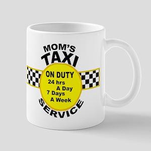 Mom's Taxi Service Mugs