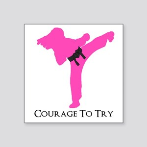Martial Artist Sticker