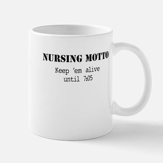 Nursing Motto Mugs