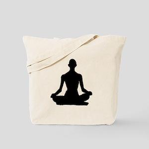 Yoga Buddhism meditation Pose Tote Bag