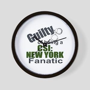 CSI: New York Fantic Wall Clock