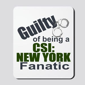CSI: New York Fantic Mousepad