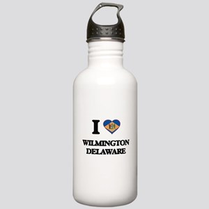 I love Wilmington Dela Stainless Water Bottle 1.0L