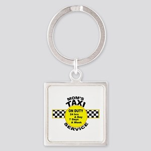 Mom's Taxi Service Keychains
