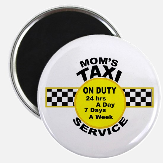 Mom's Taxi Service Magnets
