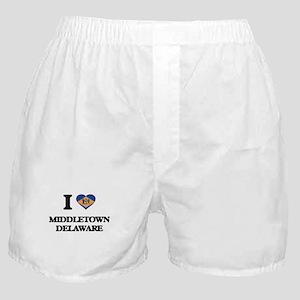 I love Middletown Delaware Boxer Shorts