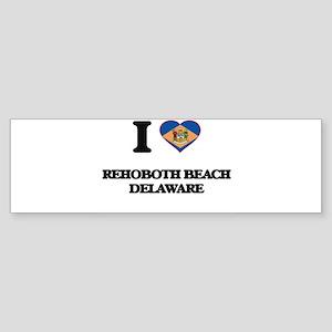I love Rehoboth Beach Delaware Bumper Sticker