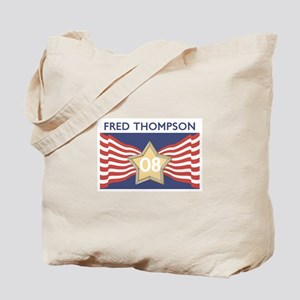 Elect FRED THOMPSON 08 Tote Bag