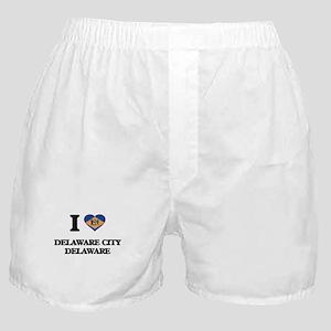 I love Delaware City Delaware Boxer Shorts