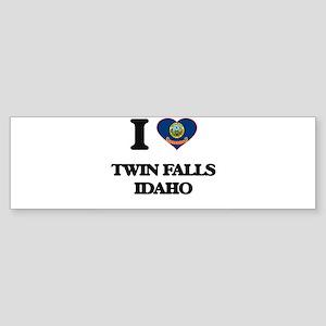 I love Twin Falls Idaho Bumper Sticker