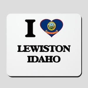 I love Lewiston Idaho Mousepad