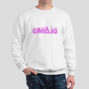 Emilie Flower Design Sweatshirt