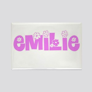Emilie Flower Design Magnets