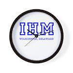 IHM WILMINGTON DE Wall Clock