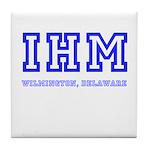 IHM WILMINGTON DE Tile Coaster