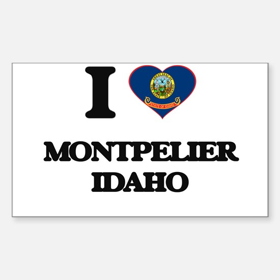 I love Montpelier Idaho Decal