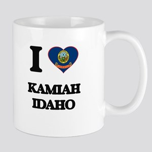 I love Kamiah Idaho Mugs