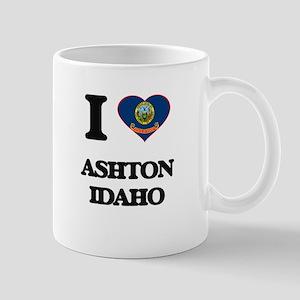I love Ashton Idaho Mugs